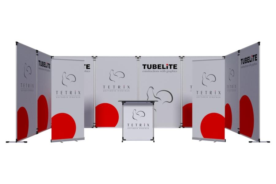 Модульная система Тьюб - крепление модулей под любым углом, любые размеры и формы